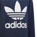 Pullover Logo Blau 134