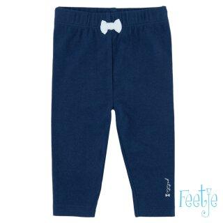 Leggings mit Schleife Blau 68
