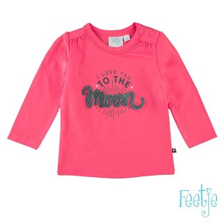 Langarmshirt to the moon Coral 80