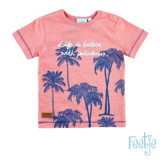 T-Shirt Palmen Coral 68