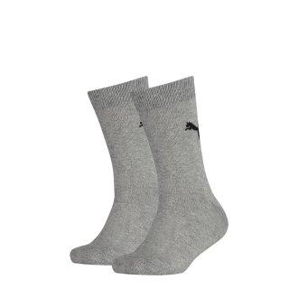 Socken 2er Pack Grau 23/26