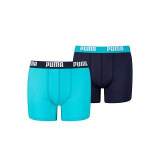 Boxershorts 2er Pack Blau 164