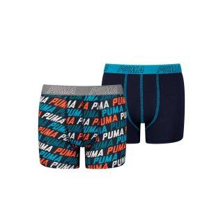 2 Boxers Blau 176