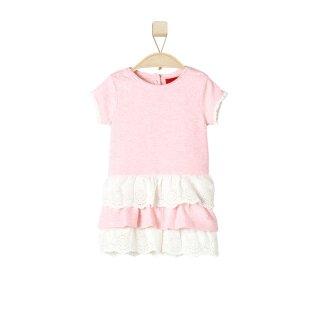 Spitzen Sommerkleid Rosa 74