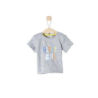 T-Shirt Happy One Grau 68