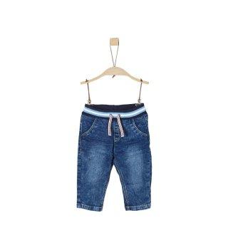 Jeanshose mit Bund Blau 74