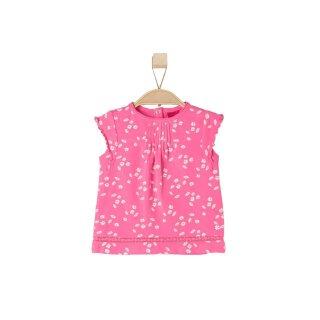 T-Shirt Blumen Pink 68