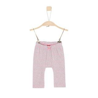 Leggings liniert Pink 68