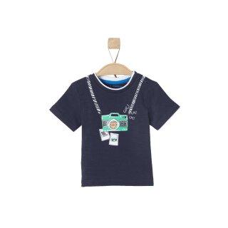 T-Shirt Blau 62