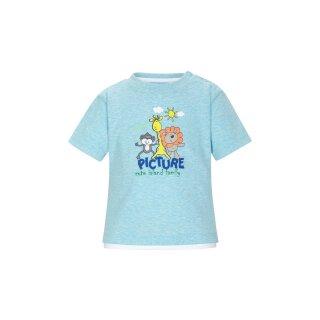 T-Shirt Blau 68