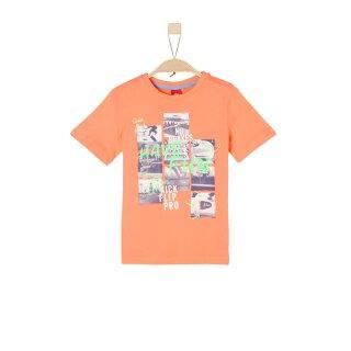 T-Shirt Logo Orange 128/134