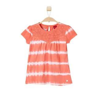T-Shirt Spitzen Orange 128/134