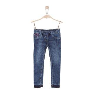 Jeans Blau 134