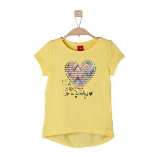 T-Shirt Rise & Shine Gelb 128/134