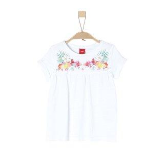 T-Shirt Weiß 128/134