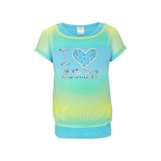 T-Shirt 2in1 mit Top Mint 116/122