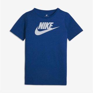 T-Shirt Logo Blau 122/128