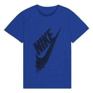 T-Shirt Logo Blau 110/116
