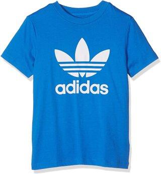 T-Shirt Logo Blau 110