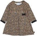 Kleid langarm Leopard