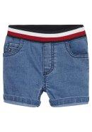 Jeans Short mit Krempelsaum