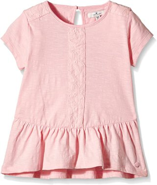 nice tee with lace details Rosa 116/122