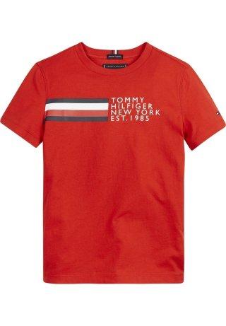 Global Stripe Graphic T-Shirt