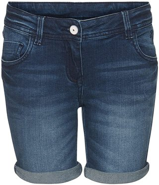 Bermuda Denim Short Blau 140