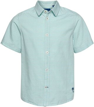 Vichy check Shirt Grün 140