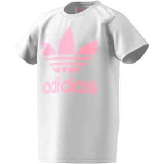 Basic T-Shirt mit Logo Weiß 134