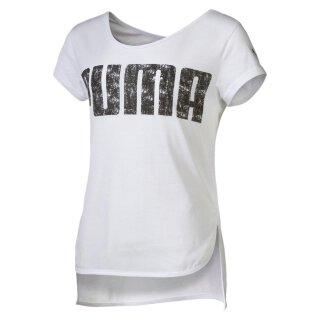T-Shirt Logo Weiß 116
