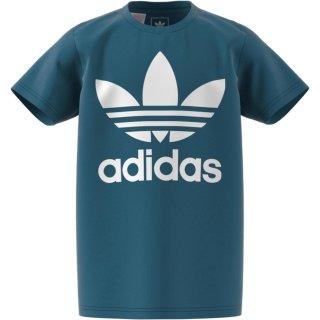 T-Shirt Logo Türkis 128