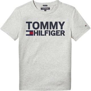 T-Shirt Logo Grau 116